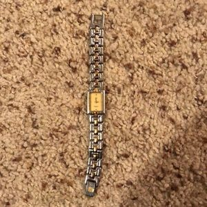 Givenchy women's square bezel watch